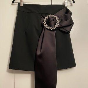 Zara Mini Skirt with Bow Detail